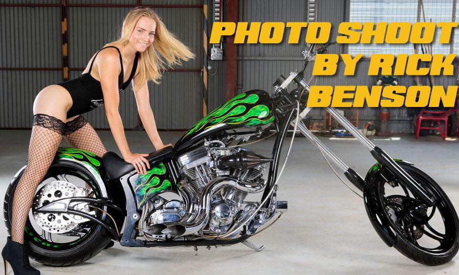 Photo shoot by Rick Benson