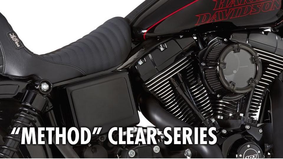 Arlen Ness ″Method″ Clear Series Air Cleaner