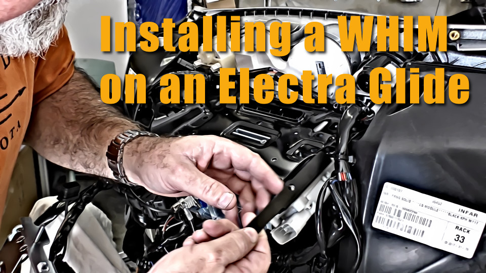Installing a WHIM on a Harley Electra Glide