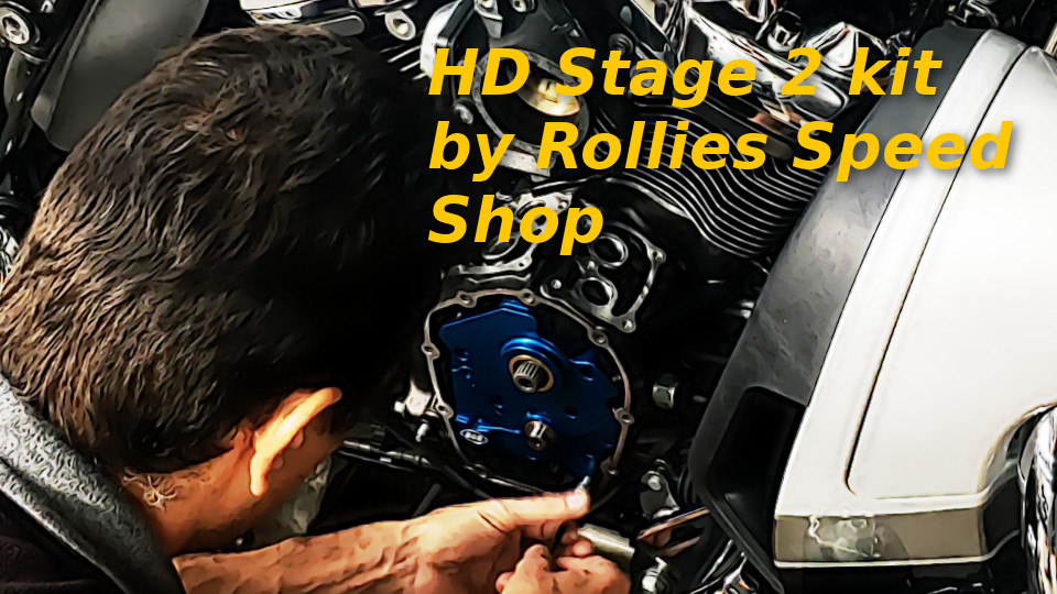 Harley Davidson Stage 2 by Rollies Speed Shop